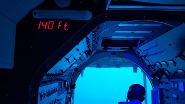 Pilot and depth - Photo by Technicalbob
